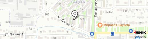 Мойдодыр на карте Михайловска