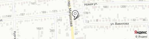 Стройдвор на карте Михайловска