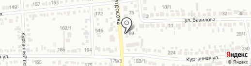 Сити-М на карте Михайловска
