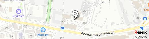 Одёжка для окошка на карте Ставрополя