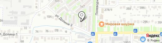 Радуга Детства на карте Михайловска