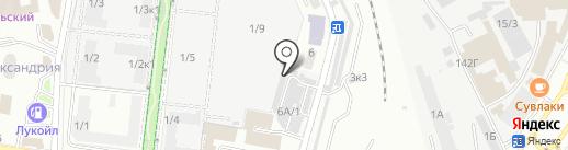 Автоэлектрик на карте Ставрополя