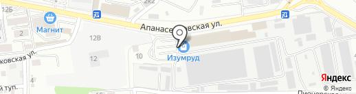 АГС на карте Ставрополя