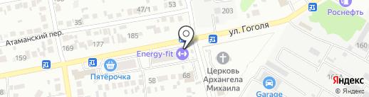 ENERGY-FIT premium на карте Михайловска