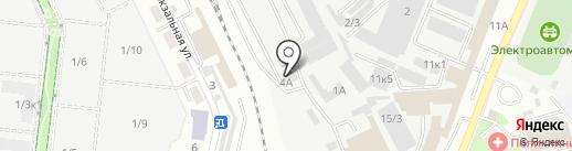 Стройсталь на карте Ставрополя