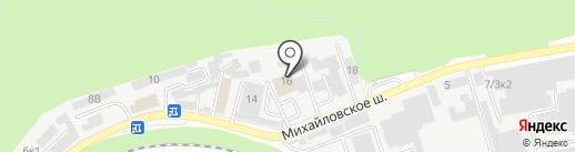 Светофор на карте Ставрополя