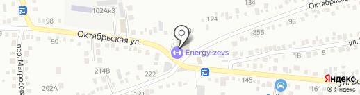 Зевс на карте Михайловска