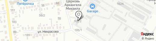 ТахографсервисС на карте Михайловска