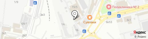Студия Д на карте Ставрополя