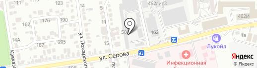 Строй Комфорт на карте Ставрополя