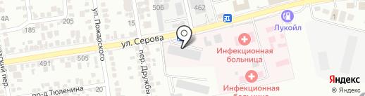 Оптово-розничный магазин электротоваров на карте Ставрополя