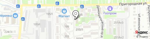 Пивная Таверна на карте Ставрополя