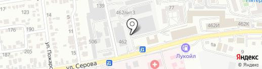 Союз-М на карте Ставрополя