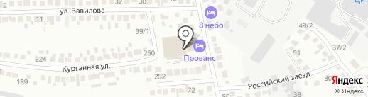 Шпаковский межрайонный следственный отдел на карте Михайловска