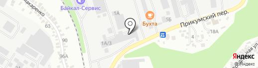 Велдинг-СК на карте Ставрополя