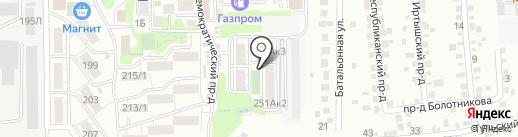 Родники на карте Ставрополя