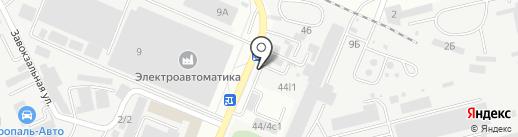 ПЕРВАЯ ЛЕСОТОРГОВАЯ на карте Ставрополя