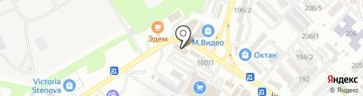 Салон-магазин штор на карте Михайловска