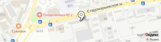 CAR PLAST на карте Ставрополя
