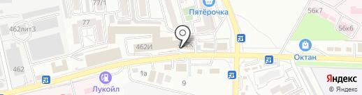 Восьмёрочка на карте Ставрополя