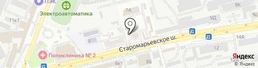 Гиро-Тун на карте Ставрополя