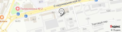 Оптовая компания по продаже орехов и сухофруктов на карте Ставрополя