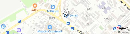 Детский лабиринт на карте Михайловска