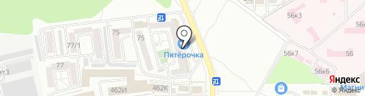 Швейное ателье на карте Ставрополя