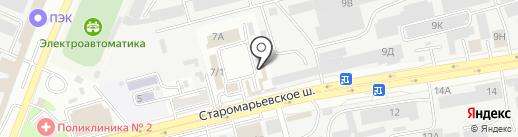 АвтоТок на карте Ставрополя