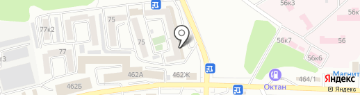 ТМК-Ставрополь на карте Ставрополя