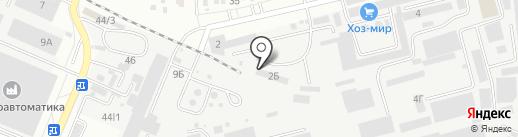 Монкарго на карте Ставрополя