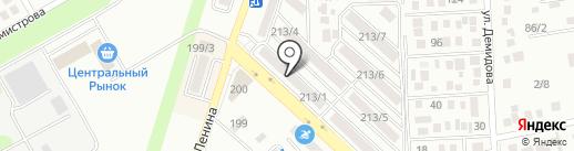 Автоприкид на карте Михайловска