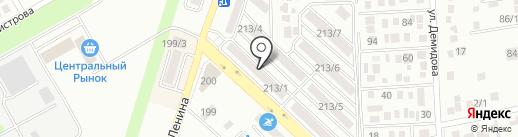 Вишенка на карте Михайловска