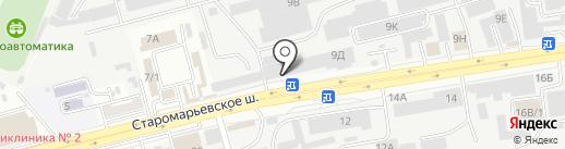СИДЭЯ-КРАСНОДАР на карте Ставрополя