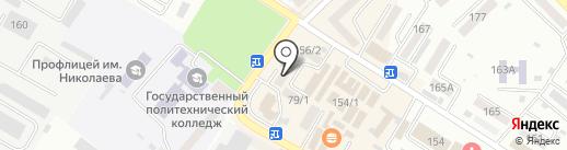 Центр-окна на карте Михайловска
