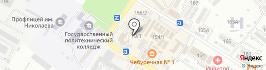 Центр социального обслуживания населения по Шпаковскому району на карте Михайловска