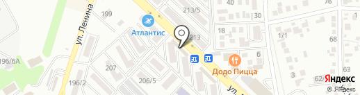Усладушка на карте Михайловска