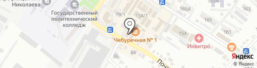 Сад-Огород на карте Михайловска