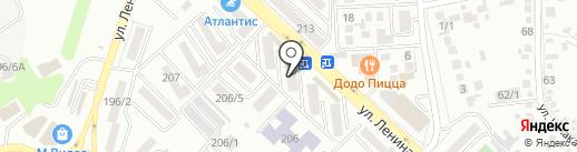 Art-Deco на карте Михайловска