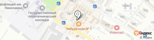 Школьная мода на карте Михайловска