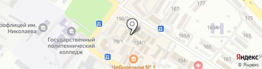 Хлопковые сны на карте Михайловска
