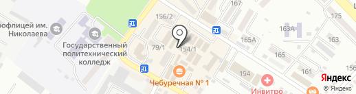 Вера Надежда Любовь на карте Михайловска