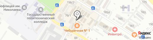Планета детства на карте Михайловска