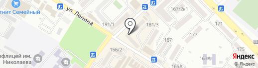 Семья на карте Михайловска