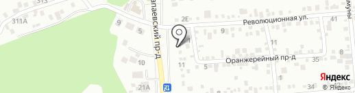 Магазин автозапчастей для ВАЗ и ГАЗ на карте Ставрополя