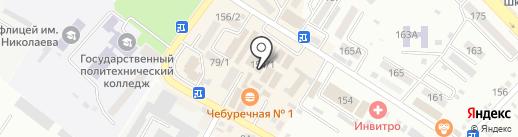 Радуга на карте Михайловска