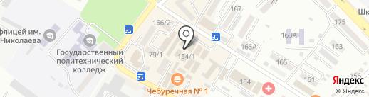 Валентина на карте Михайловска