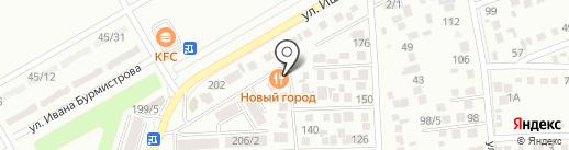Новый Город на карте Михайловска