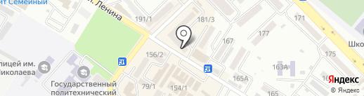 Галактика TV на карте Михайловска