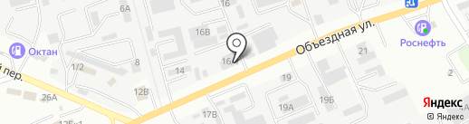 МФК на карте Ставрополя